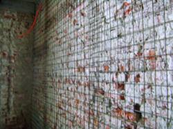 Izvedba mlaznog betona - zida